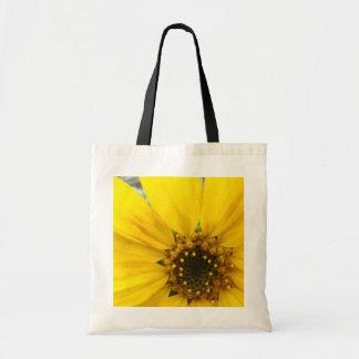 Starburst Sunflower Tote Bag