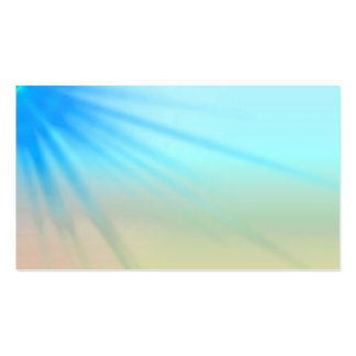 Starburst Watercolor Business Cards