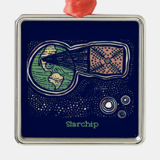 Starchip Metal Ornament