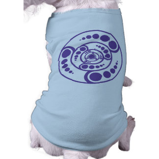 Stardrive-Purple Crop Circle Doggie T-shirt