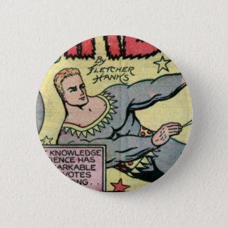 Stardust by Fletcher Hanks 6 Cm Round Badge