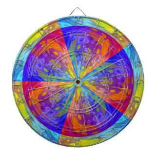 Stardust Dartboard With Darts