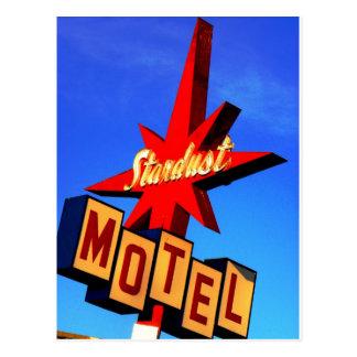 Stardust Motel Postcard