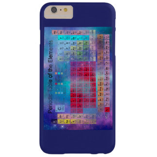 Stardust Periodic Table Barely There iPhone 6 Plus Case