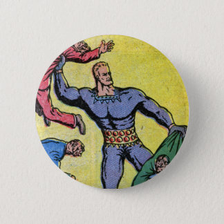 Stardust the Super-Wizard by Fletcher Hanks 6 Cm Round Badge