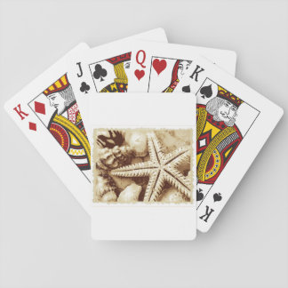 Starfish and Seashells Playing Cards