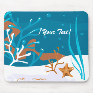 Starfish Aquatic Aqua Mousepad