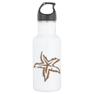 Starfish Beach 532 Ml Water Bottle