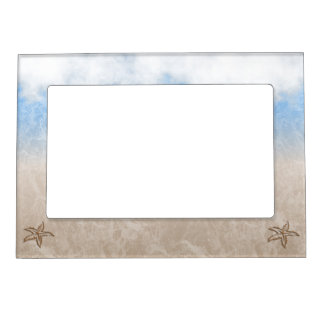 Starfish Beach Magnetic Picture Frame