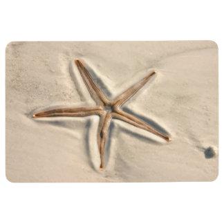 Starfish Beach Theme Floor Mat