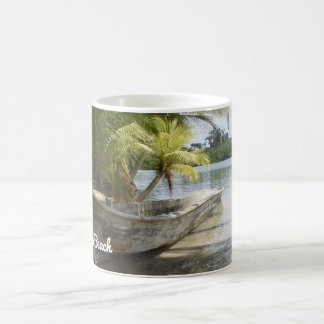 Starfish Beach - Tropical Beach Mug  Lat & Long