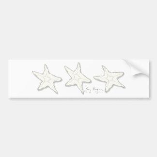 Starfish Bumper Sticker