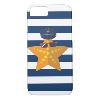 Starfish Captain iPhone 7 Case