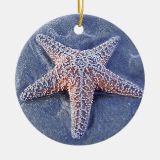 Starfish Christmas Oranament Ceramic Ornament