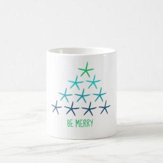 Starfish Christmas Tree Mug
