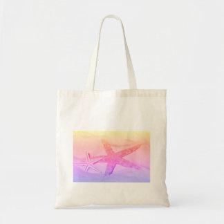 starfish collection tote bag