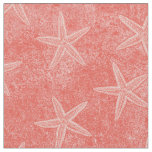 Starfish Coral Pink Fabric