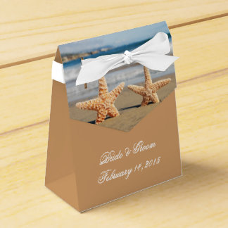 Starfish Couple on the Beach Wedding Favour Box Party Favour Boxes
