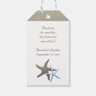 Starfish Couple Thank You Wedding Favor