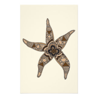 Starfish Custom Stationery