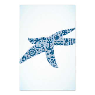 Starfish Custom Stationery