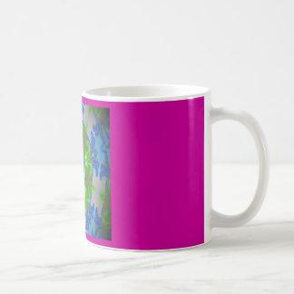 Starfish design coffee mug