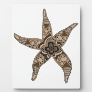 Starfish Display Plaques