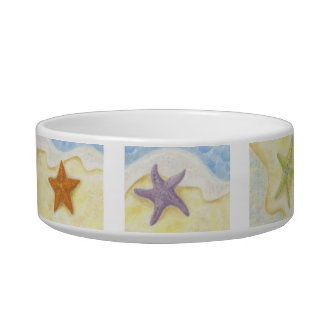 Starfish Dog or Cat Bowl