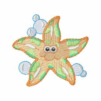 Starfish Embroidered Polo Shirt