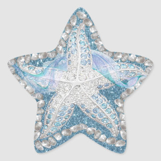 Starfish Gem Graphic Sticker
