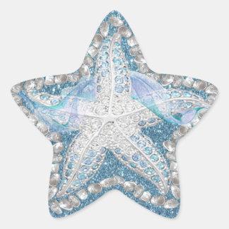 Starfish Gem Graphic Sticker