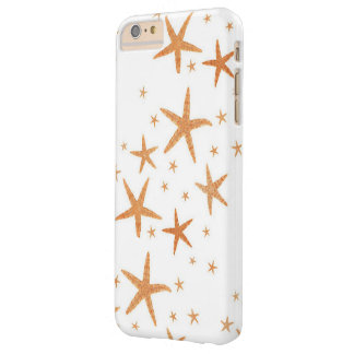 Starfish Image, Sea Life,,Oceans Gold Stars Barely There iPhone 6 Plus Case