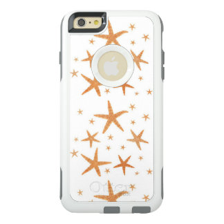 Starfish Image, Stars of the Seas, Gold Stars OtterBox iPhone 6/6s Plus Case