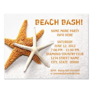 Starfish Invitations