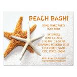 "Starfish Invitations 4.25"" X 5.5"" Invitation Card"