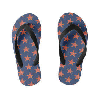 Starfish Kid's Flip Flops