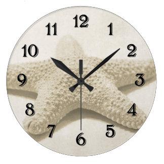 Starfish Large Clock