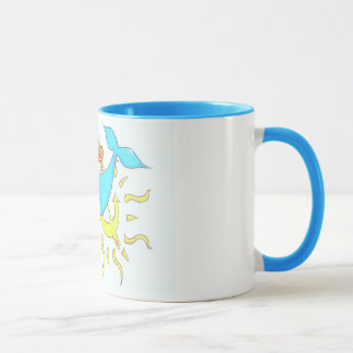 Starfish love mug