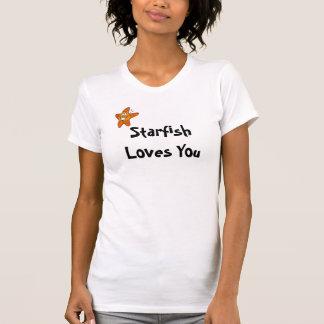 Starfish Loves You Shirts