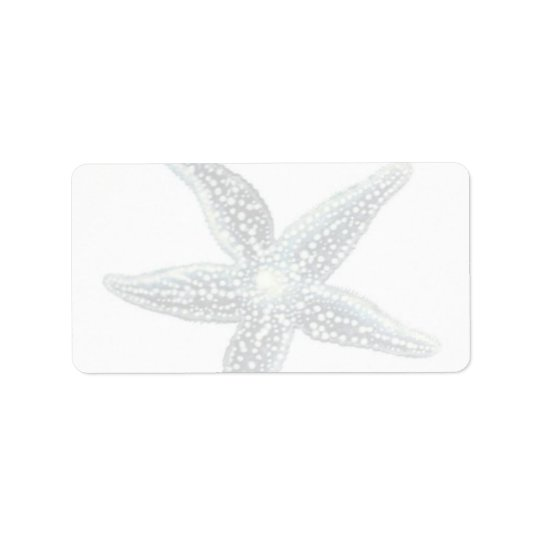 Starfish Mailing Labels