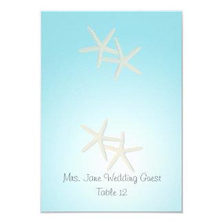 Starfish Ocean Dream Wedding Seating Place Card 9 Cm X 13 Cm Invitation Card