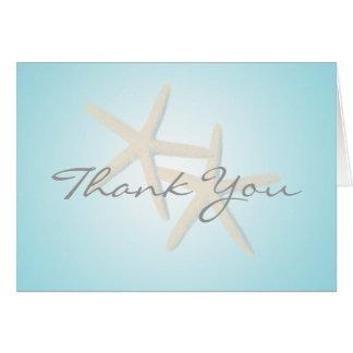 Starfish Ocean Dreams Thank You Card