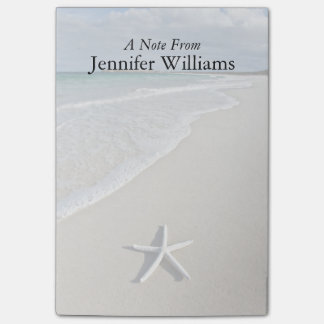 Starfish On A Remote Beach Post-it Notes