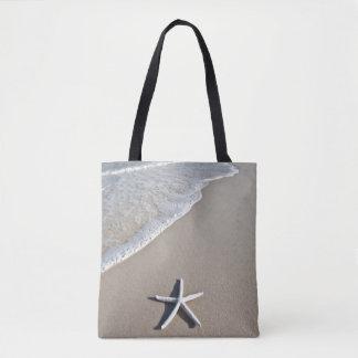 Starfish On A Remote Beach Tote Bag