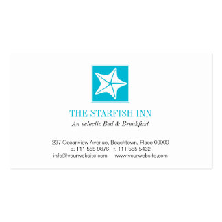 Starfish on the Beach Business Cards