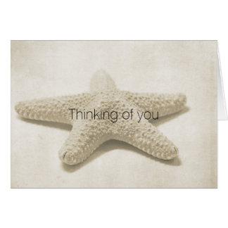 Starfish Personalized Card