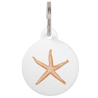Starfish Pet ID Tag