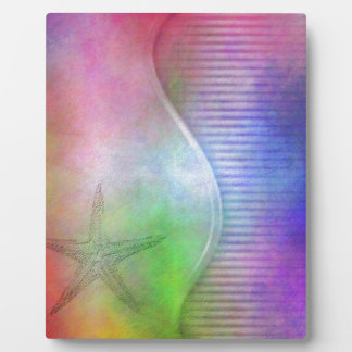 starfish photo plaque
