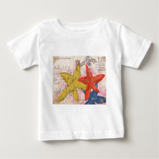 Starfish Postcard Baby T-Shirt