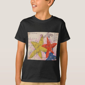 Starfish Postcard T-Shirt